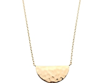 Necklace half moon