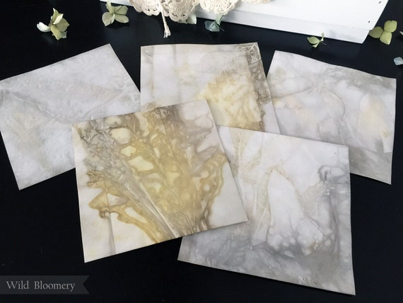 ECO Dyed Paper 5 inch Square Tiles Batch No. 0001 - 5 in Square, 110 lb Cardstock ECO Printed Paper - Plant Dyed Boiled Paper Art Prints