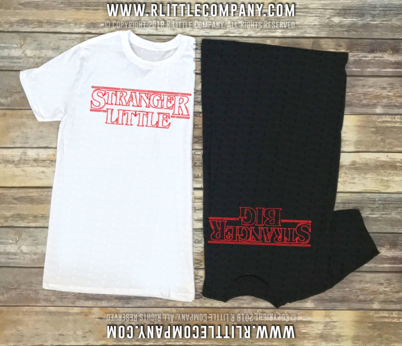 Custom Stranger Big Stranger Little Sorority Family Shirts Unisex