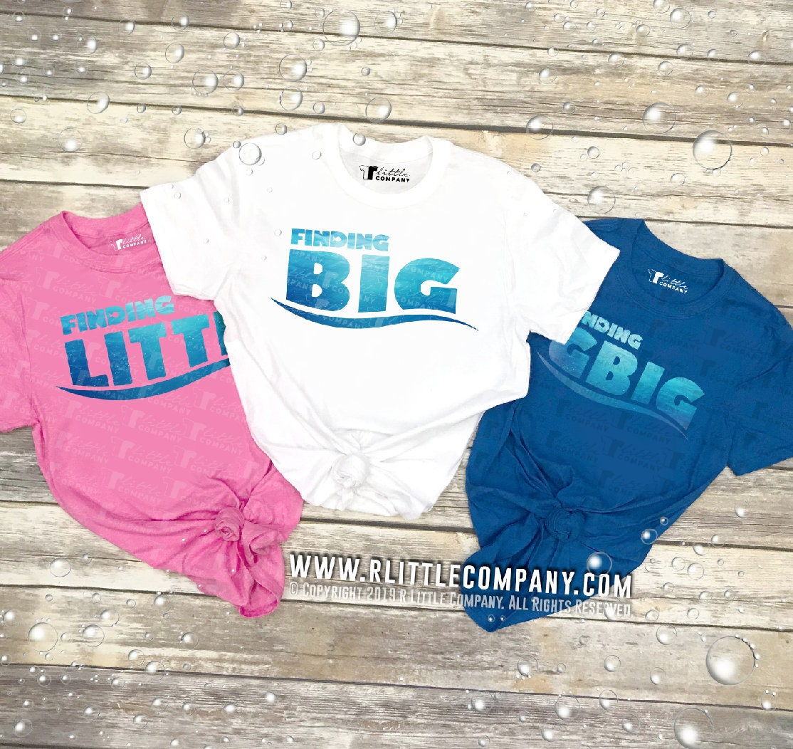 Finding Big / Little / Gbig Family Unisex Tees S-2XL