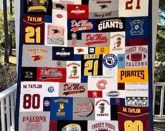 Deposit for a T-shirt Quilt