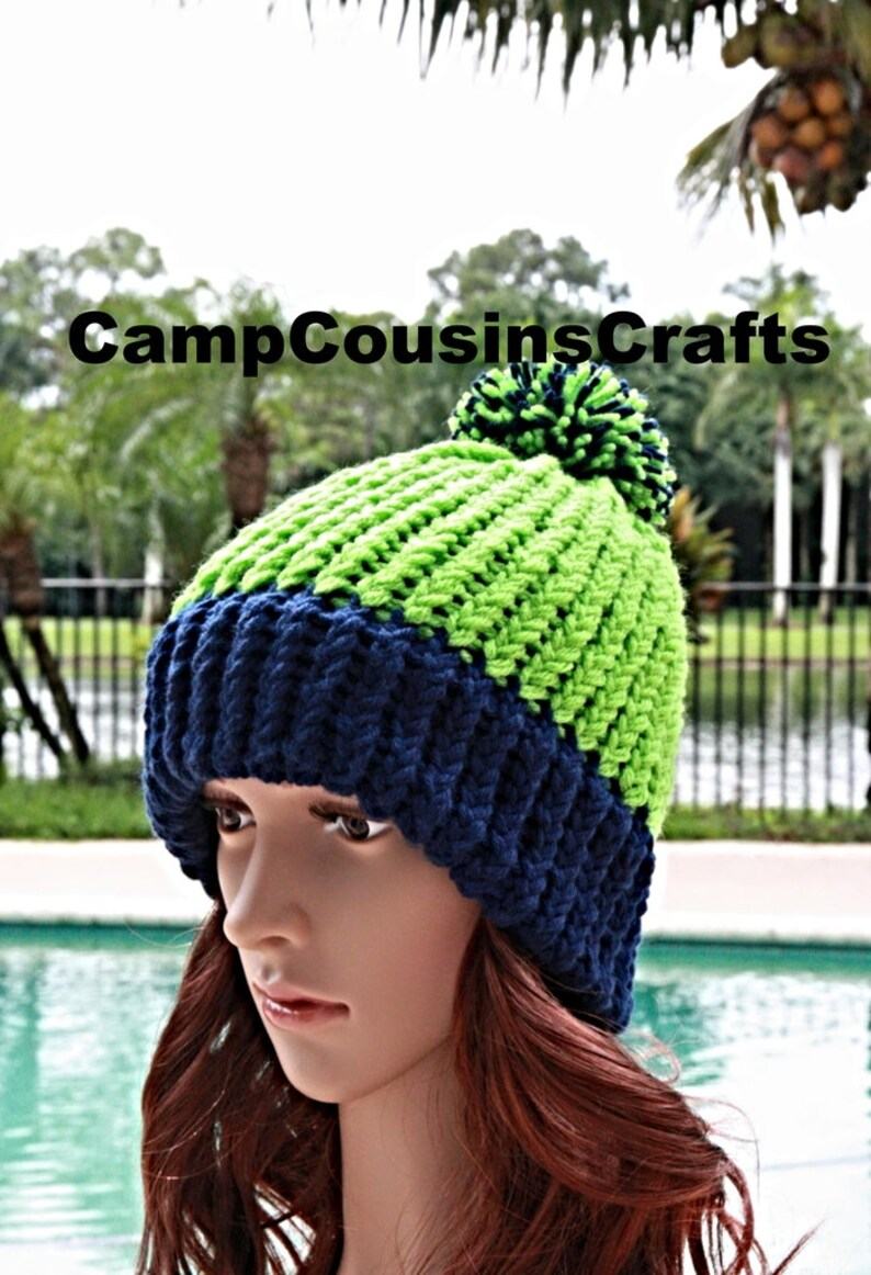 14833f184183c SEATTLE SEAHAWKS knit hatgreen knit hatblue knit