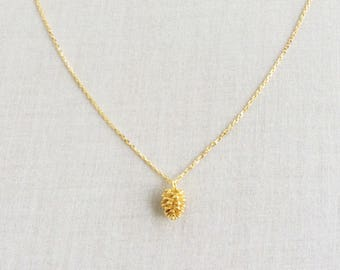 Pine Cone Necklace - Gold Pine Cone Necklace, Pine Cone Jewelry, Pinecone Necklace, Dainty Necklace Gold,  Pinecone Jewelry, Necklace, NGP25