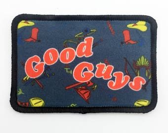 Good Guys Patch Childs Play Patch Chucky Patch Childs Play Chucky Good Guys Chucky Rectangle Patch Horror Patch 80s Horror Iron On Patch