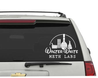 Breaking Bad Decal Etsy