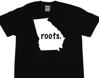 Georgia - Home State - Love Your State - Roots - Cool - T-shirt