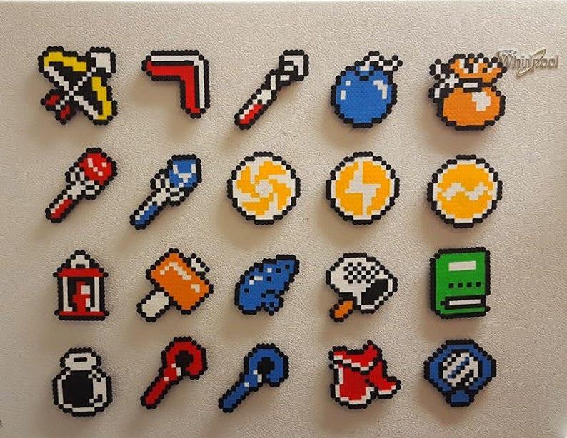 Legend of Zelda, perler, bead art, a link to the past, bead art, Zelda,  Link, Perler beads, 8 bit, pixel art