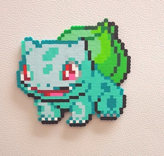 Pokemon Pixel Art Bulbizarre Perles Perler Moltres Pokedex Pokeball Perle Sprite Aimant Art Mural Art Pokemon Pokemon Anniversaire