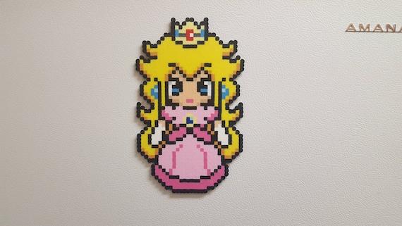 La Princesse Peach La Princesse Rosalina Princesse Daisy Super Mario Bros Perler Bead Sprite 8 Bit Pixel Art