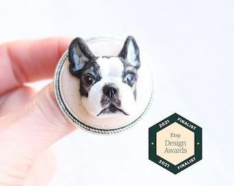 Custom portrait, personalized jewelry, custom pet portrait, personalized dog, dog illustration, custom dog jewelry, dog mom