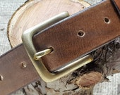 Leather Belts - Natural, Solid, British and Hand-stitched. Made with style to last a lifetime. 5 colours available.