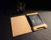 Kindle Paperwhite British Leather Case - side flap READY TO POST