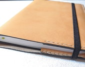 A5 Luxury Italian Leather Journal Cover. READY TO POST Refillable and long lasting. Pockets for extra notes.