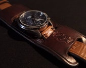 Lorus Watch with Oak Bark Tanned Leather watch strap