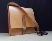 Shoulder Bag for Men and Women - Durable and Tough British Leather