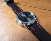 Lorus Watch with Oak Bark Tanned Leather watch strap READY TO POST
