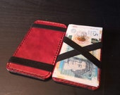 Magic Wallet handmade from European Leather