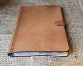 iPad Mini flip case with space for bank cards, notes and receipts.
