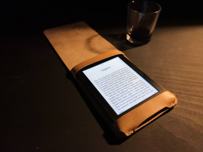 Kindle Paperwhite Case  made from British cowhide Leather  image 0
