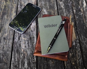 Pocket notebook and phone case READY TO POST