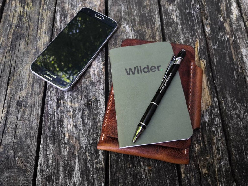 Pocket notebook and phone case READY TO POST image 1