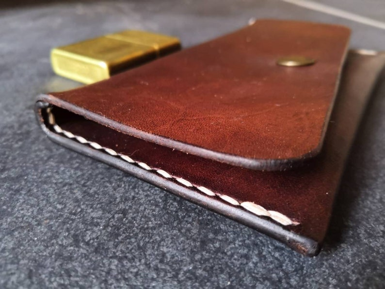 Leather Tobacco Pouch image 1