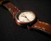 Kahuna Watch with Oak Bark Tanned Leather watch strap - READY TO POST