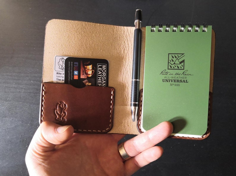 Small Rite in the Rain Notepad book with pocket  British image 1