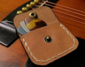 Pick/Plectrum Pouch Leather Case