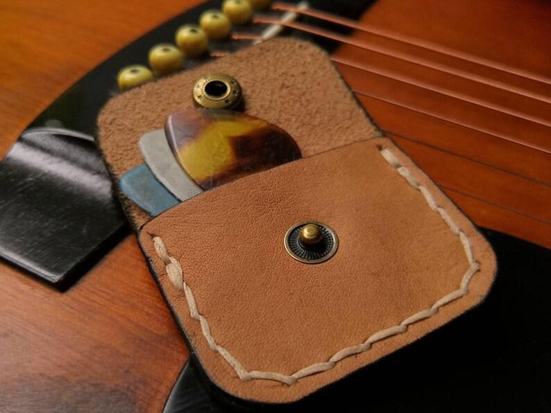Pick/Plectrum Pouch Leather Case image 1