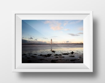 New Brighton Lighthouse / Wirral / UK / Sea / Beach / Coast / Wall Art / Landscape / Coastal