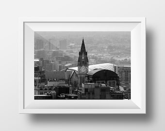 Manchester Town Hall / MCR / Mancunian / MCR/ Iconic / Cityscape / Wall Art