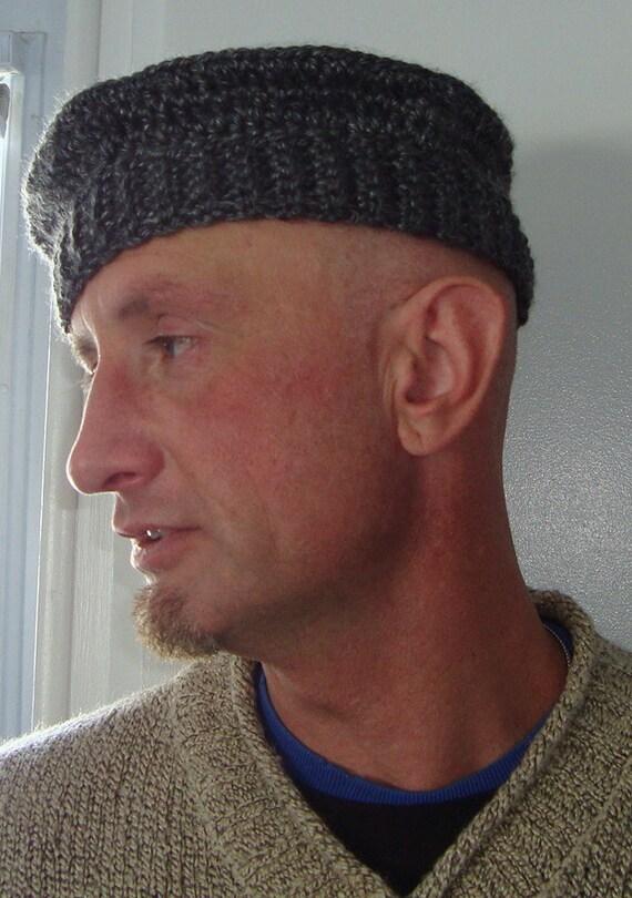 men s beret wool hat crochet beret New york chapeau  630b5d2e4ff