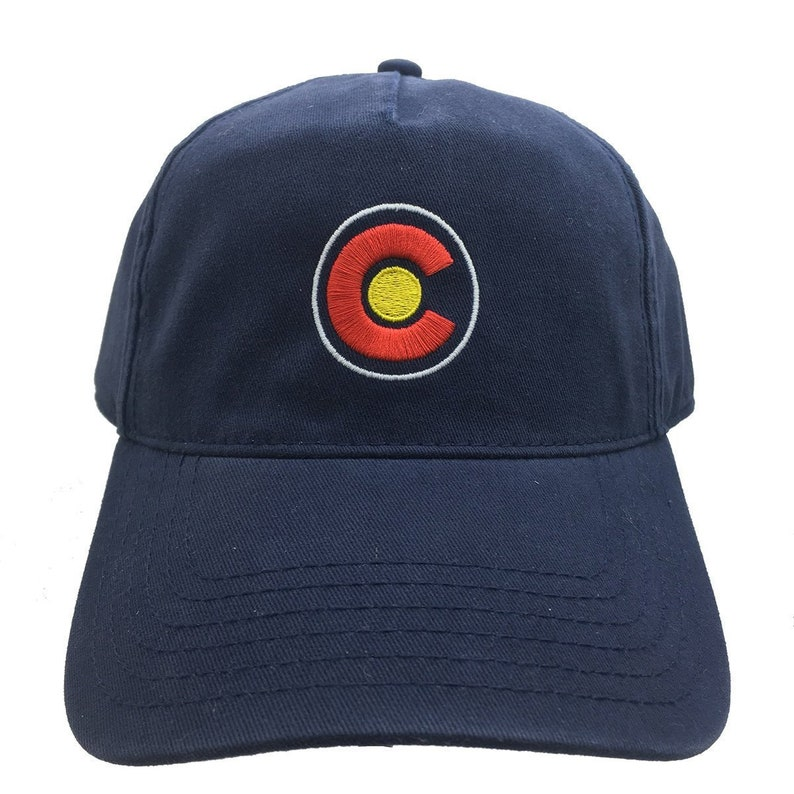7c9695bca Colorado CO Dad Hat / Embroidered CO Snapback CO Hat Mens Colorado State  Flag Hat Gift for Her Trucker Hat Baseball Cap Colorado dad hat cap