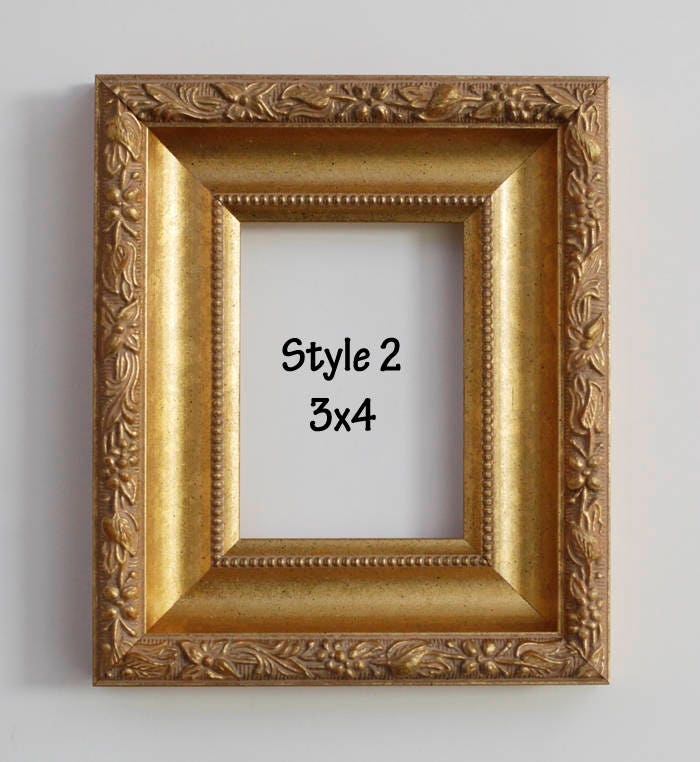 photo frame, picture frame, square frame, mini frame, 3x4, 4x4, wood ...