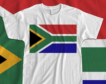 South Africa - Flag - Iron On Transfer a9e3fdf2f