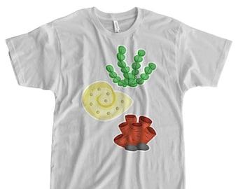 Puffer Fish Iron On T-Shirt Transfer Print Sea Life