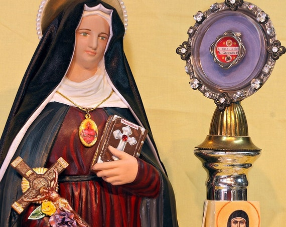 """St. Gertrude the Great 18"""""""