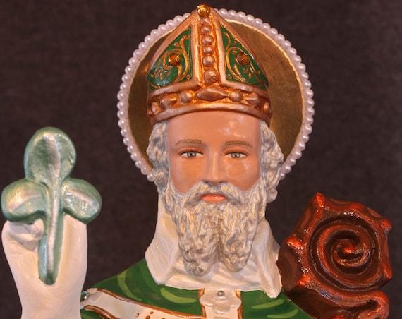 "St. Patrick 20"" Saints Religious Catholic Christian Statues"