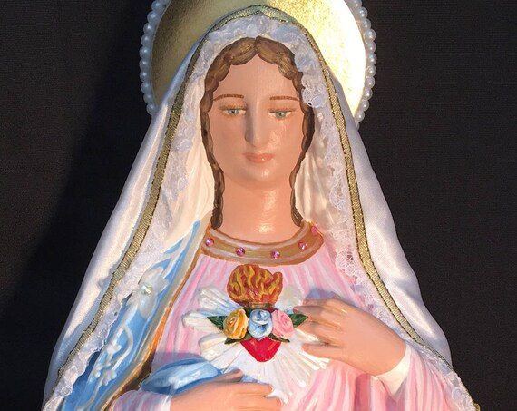 "Immaculate Heart of Mary 18"" Pray for us now and at the hour of our death. Amen. 3x"