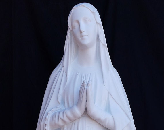 "Our Lady of Lourdes 60"" Fiberglass Statue Catholic Christian Mary Blessed Mother"