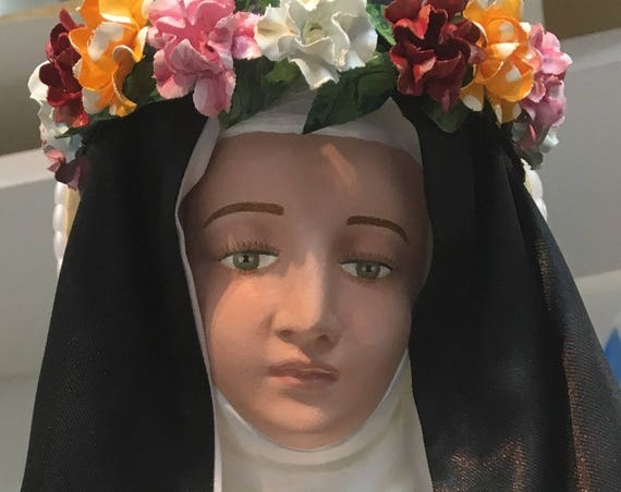 "10% OFF!! St. Rose of Lima 26"" Saints Religious Catholic Christian Statues"