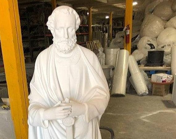 "St. Paul the Apostle 65"" Fiberglass Statue"