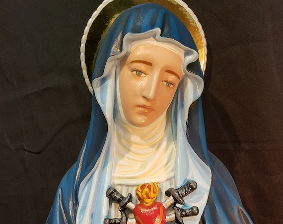 "Our Mother of Sorrows 24"" Patroness of the Grieving"