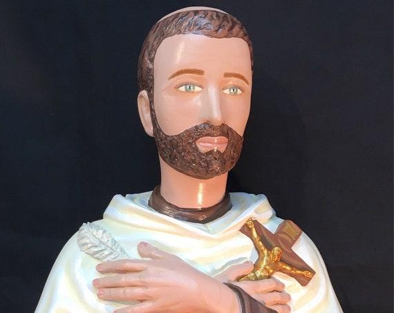 "St. John of the Cross Contemplative Life 26"" Catholic Christian Religious Saint Statues"