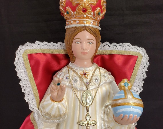"Infant Jesus of Prague 18"" Catholic Christian Religious Saints Statue"