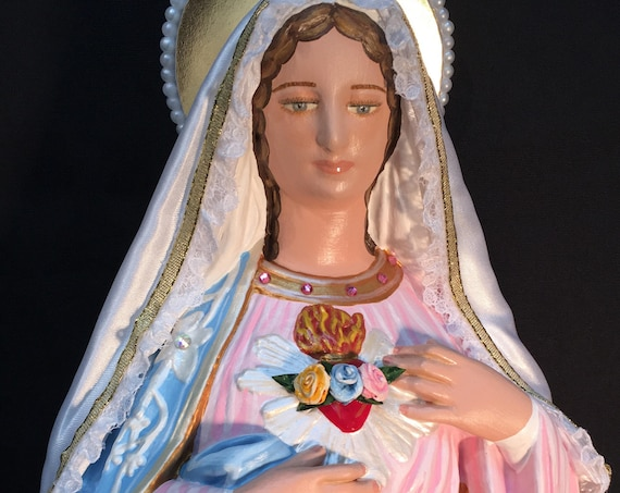 "Immaculate Heart of Mary 18"" Religious Catholic Christian Statues"