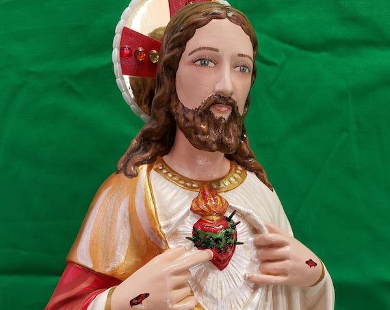 """Sacred Heart of Jesus 18"""" Catholic Christian Religious"""