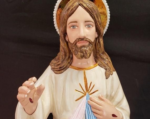 "Divine Mercy Jesus 22"" Catholic Christian Saint Religious Statues"