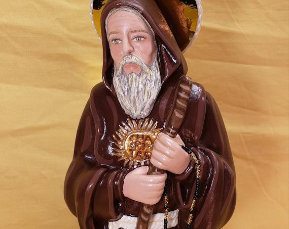 "St. Francis of Paola 16"" Catholic Christian Religious Saint Statues"